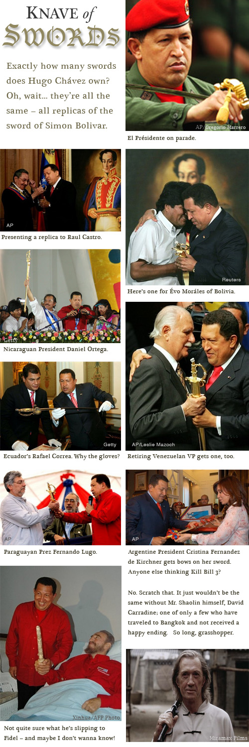 chavez swords