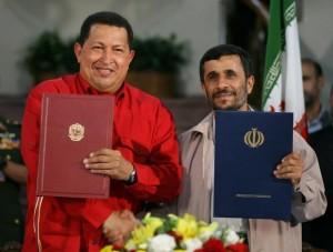 VENEZUELA-IRAN-CHAVEZ-AHMADINEJAD
